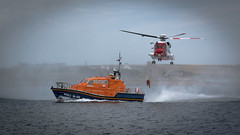 Precise (MBDGE Over 1.2Million Views) Tags: orkney longhope lifeboat rnli shetland helicopter winching rescue searchandrescue exercise canon70d marine sea scapaflow scotland alba