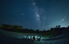 三仙台銀河-台東 (bear杜) Tags: 三仙台 銀河 olympus 花東 milkyway