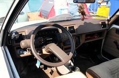 Citroën Axel 11 (Skylark92) Tags: citroën water forest boat sky grass gelderland maurik van eiland window windshield tree building car road citroen jaar 100 holland netherlands nederland vehicle axel 11 rn22yy 1987 onk origineel nederlands kenteken