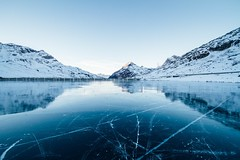 Frozen lake - Credit to https://www.semtrio.com/ (Semtrio) Tags: adventure blue calm waters climb cold daylight freeze frost frosty frozen glacier high hike ice lake landscape mountain peak mountains nature outdoors reflection scenic serene sky snow travel water winter