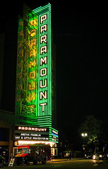 Say a Little Prayer (stvjackson) Tags: california arethafranklin neon neonsign night nightphotography oakland paramounttheater paramounttheatre theater theatre tribute unitedstates us