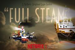 """Full Steam"" Netbrix Teaser 2 (Markus ""Madstopper"" Ronge) Tags: legosteampunk lego madstopper legopotsdam fullsteamlego moc steampunk airship luftschiff toyphotography legophotography"