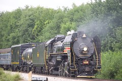 IAIS 6988 8 (eslade4) Tags: iais iowainterstaterailroad iais6988 2102 steam mitchellville fundraiser passengercars
