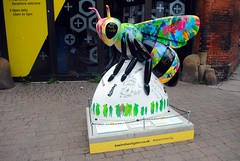 52 - Bee Live in MCR (zawtowers) Tags: beeinthecity bee worker manchester mancunian symbol heritage icon sculpture public art exhibition summer 2018 keithrichards mickjagger blossoms signatures concerts