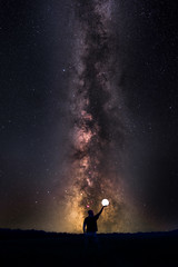 I am (Andrew Thomas 73) Tags: selfie milkyway astronomy astro photography nikond810 ioptron pro