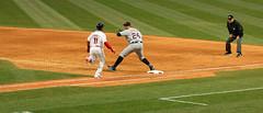 Out at First (320-ROC) Tags: clevelandindians detroittigers joséramírez miguelcabrera progressivefield cleveland mlb majorleaguebaseball baseball