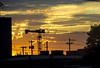 2018-06-20 Portland Sunset (Mary Wardell) Tags: portland oregon sunset constructioncranes cranes silhouette ps