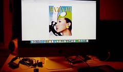 harpers bazaar / 1966 (bluebird87) Tags: 1966 fashion film kodak ektar nikon f100 epson v800 dx0 c41 lightroom harpers bazaar monitor