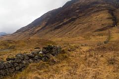 An Old Boundary (TheOtter) Tags: glenetive rockwall glencoe scotland mountains waterfall