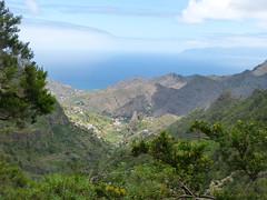 Hermigua és környéke (ossian71) Tags: spanyolország spain kanáriszigetek canaryislands gomera lagomera garajonay tájkép landscape természet nature hegy mountain völgy valley