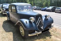 Citroën Traction (Monde-Auto Passion Photos) Tags: voiture vehicule auto automobile citroën traction berline ancienne classique légende collection france fontainebleau
