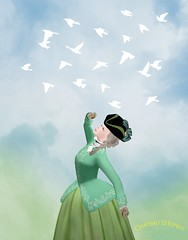 Rococo Idelle AD (Sofia ~Chateau D'Esprit~) Tags: chateaudesprit secondlife sl roleplay rp idelle riding habit sky limit ad vendor promo