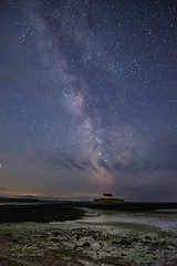 St Cwyfan's (in explore) (keithbellis) Tags: purple sirmon anglesey milkyway northwales wales