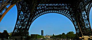 Champ de Mars - Paris la tour Eiffel - 2008
