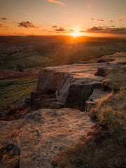 Higger Tor (david.travis) Tags: unitedkingdom rock summer derbyshire england sunset higgertor landscapephotography dusk