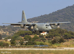 Hellenic Air Force C-130H 752 (birrlad) Tags: rhodes rho international airport greece aircraft aviation airplane airplanes military lockheed c130 c130h hercules turboprops prop hellenic 752 airforce greek arrival arriving approach finals landing runway