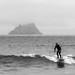 Skellig Michael surfer