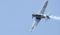 T6_Facebook-1 (_Vyl) Tags: nikon nikond5300 d5300 avion de chasse meaux meeting aerien plane militaire 70200 70mm 200mm second guerre mondial t6 americain america