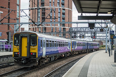153301, Leeds (JH Stokes) Tags: class153 dmu dieselmultipleunits singleunit tinrocket northernrail 2018 leeds publictransport trains trainspotting tracks t transport railways photography 153301