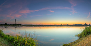 Longhams Lakes Panorama