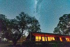 The Night Sky (Merrillie) Tags: night glitter landscape milkyway astrophotography stars planetary newsouthwales astro lights nightsky country astronomy outside winter tree house outdoors sky nsw galaxy astrology australia gresford