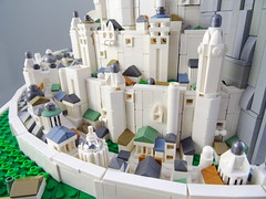 Minas Tirith (Swan Dutchman) Tags: lego tolkien lordoftherings middleearth minastirith minasanor gondor capital whitecity cityofthekings mundburg thetowerofguard citadel