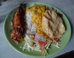 Fish Curry rice plate (Joegoaukfishcurry2) Tags: joegoauk goa fish