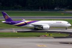 Thai Airways | Airbus A350-900 | HS-THJ | Singapore Changi (Dennis HKG) Tags: aircraft airplane airport plane planespotting staralliance canon 7d 100400 singapore changi wsss sin thai thaiairways thailand tha tg hsthj airbus a350 a350900 airbusa350 airbusa350900