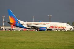 Jet2 Boeing 737-8K2 G-JZHE EMA 08/05/18 (bhxflights) Tags: jet2 boeing boeing737 jet2holidays airport ema eastmidlands eastmidlandsairport egnx