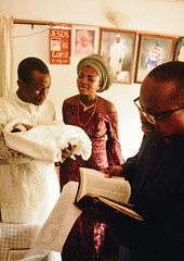 Naming Ceremony (adeoluosibodu) Tags: child childbirth baby newborn father love naming ceremony pastor priest nigeria pray prayer