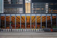 Bikes and Banks (Jack Landau) Tags: td centre toronto downtown financial district city buildings office tower mies van der rohe jack landau