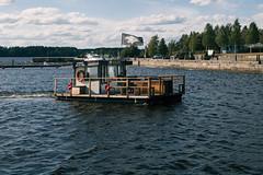 Iisalmi (Tuomo Lindfors) Tags: iisalmi finland suomi myiisalmi saunalautta msipk lautta sauna raft porovesi järvi lake vesi water