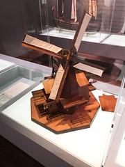 Prototype windmill made of wood (quinet) Tags: 2017 amsterdam maritimemuseum netherlands scheepvaartmuseum northholland neterlands 528