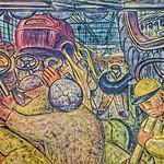 Detroit  Michigan ~ Detroit Institute of Arts ~ Rivera Court ~  Fresco By Diego Rivera thumbnail