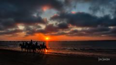 _DSC2071 (jsanchezq65) Tags: sunset sunsets sundown beach coastline ride horse sanlucarbarrameda
