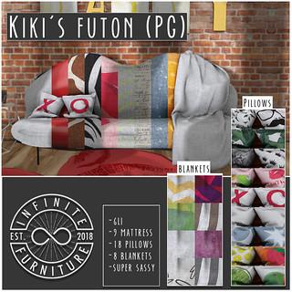 Infinite - Kiki's Futon @ PocketShop!