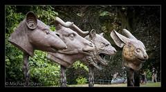 Ai Weiwei - Four Zodiacal animals (MikeJDavis) Tags: aiweiwei ysp yorkshiresculpturepark