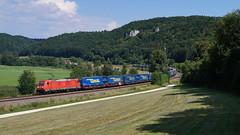 185 355 Breitenfurt (lukasrothmann) Tags: bayern oberbayern breitenfurt dollnstein train zug lok traxx kbs990 185 185355 winner klv