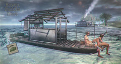 crate Bayou Paddle Boat (crate.) Tags: decor drivable vehicle paddle boat riverboat animations adult pg
