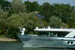 MS JANE AUSTEN (Lutz Blohm) Tags: msjaneausten flusskreuzfahrtschiff mannheim binnenschiffe binnenschifffahrt rhein rheinschifffahrt fluskilometer418 rheinzutal sonyfe70300goss sonyalpha7aiii