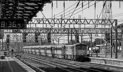 87033 Crewe R00324 D210bob (D210bob) Tags: 87033 crewe r00324 d210bob blackwhitephotography blackwhite monochrome monochromephotography railwayphotographs railwayphotography railwayphotos railwaysnaps class87 passengertrain virgin northwestrailways londonmidlanddivision westcoastmainline londonmidland electrichaulage electriclocomotive