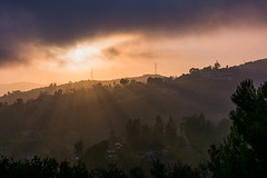 Light Touching The Hills (cmctaggs) Tags: california sunset getty images gallery landscape abstract black white friday fashion shows vibe aesthetic muted show amateur photographer college interesting portrait nature candid santa monica malibu