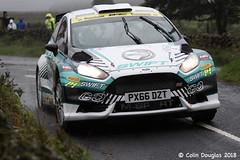 Ulster Rally 2018...........28 (CD PIX) Tags: ulsterrally mattedwards ford fiesta r5 px66dzt matt edwards