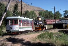 Colorado Railroad Museum Sep93 1 (jsmatlak) Tags: colorado railroad train railway museum birney streetcar tram trolley