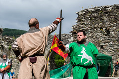 DSC_0360 (Coed Celyn Photography) Tags: medieval reenactment cymer abbey north wales dolgellau cadw cymru snowdonia castle knights armour armor battles battle fight sword shield axe flail event living history historical historic larp