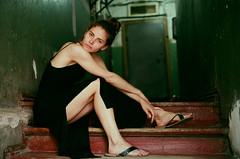 Old house (ollazarev) Tags: leicam3 leica summicron agfa girl portrait