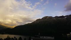 Sunset Timelapse (l4ts) Tags: europe switzerland engadinevalley engadine graubünden swissalps mountains sunset stmoritz hotelschweizerhof timelapse video goldenhour cloudscape clouds