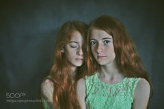 Sisters (k3shtk4r1988) Tags: ifttt 500px dress attractive long hair beautiful people pretty curly wavy elegant fashionable glamour brunette sisters twins photo fineart mood love girls
