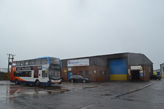 Stagecoach Western 10920 SN67XAM (Will Swain) Tags: ardrossan depot 10th march 2018 scotland scottish north bus buses transport travel uk britain vehicle vehicles county country stagecoach western 10920 sn67xam