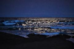 Moonlight over Punulu'u Beach (thomasgorman1) Tags: moon light moonlight dark night nikon punuluu island hawaii